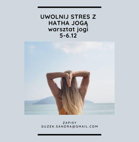 Uwolnij stres z hatha jogą